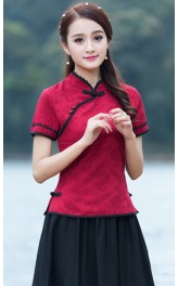 Jessamy QiPao Top