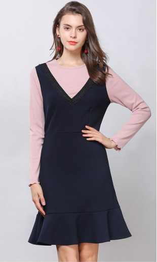 Vicentre Plus Size Dress