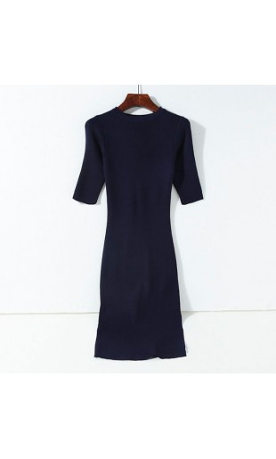 P8121 Dress (Dark Blue)